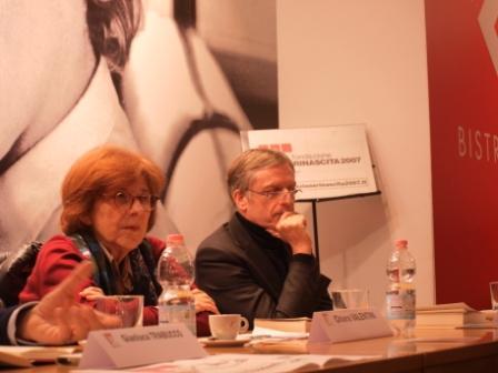 Chiara Valentini e Gianni Cuperlo