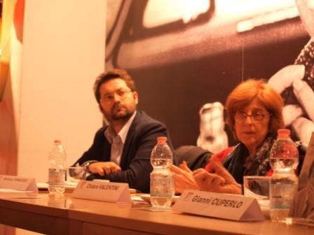 Gianluca Trabucco e Chiara Valentini