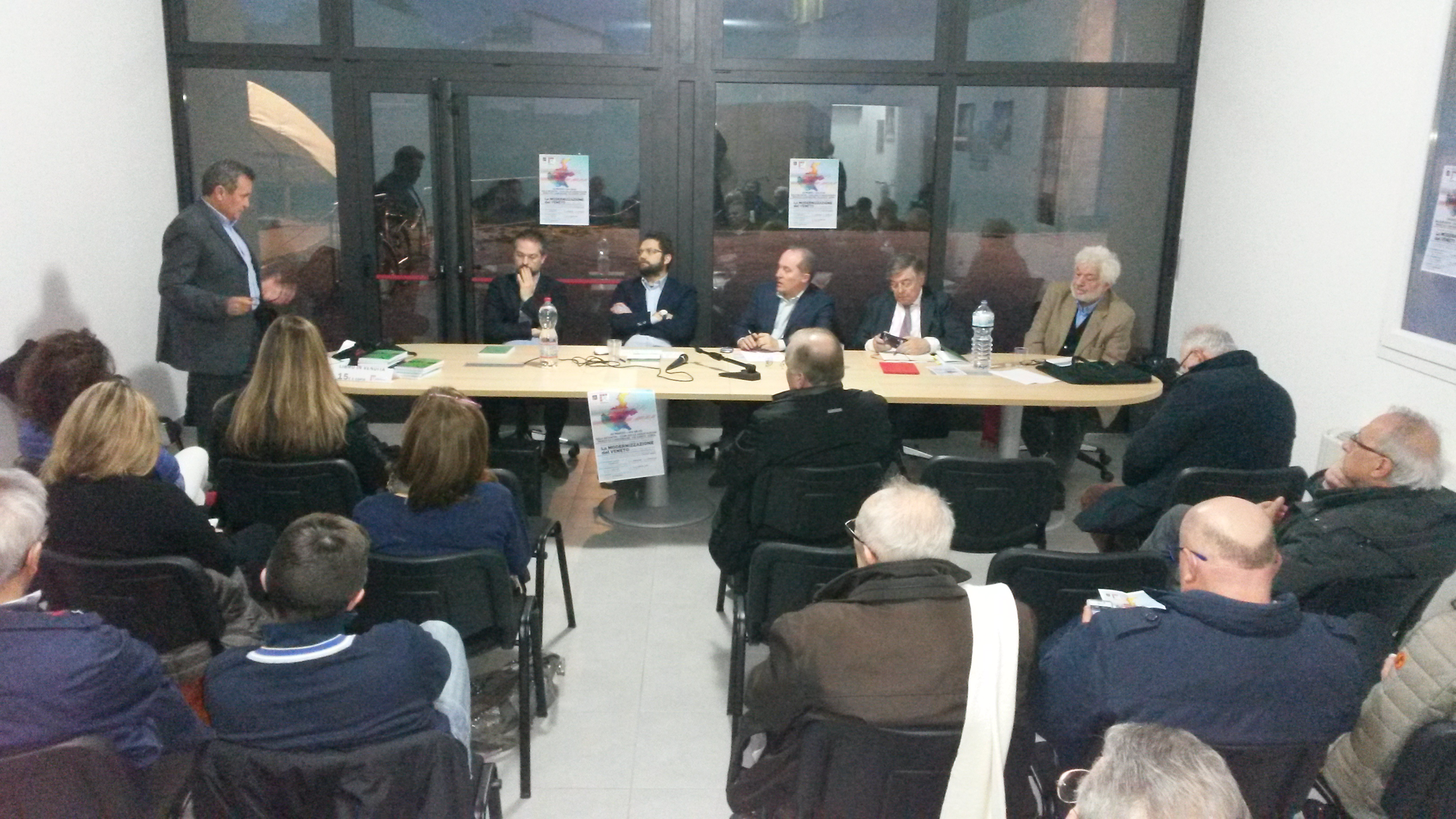 Intervento di Gino Spinello